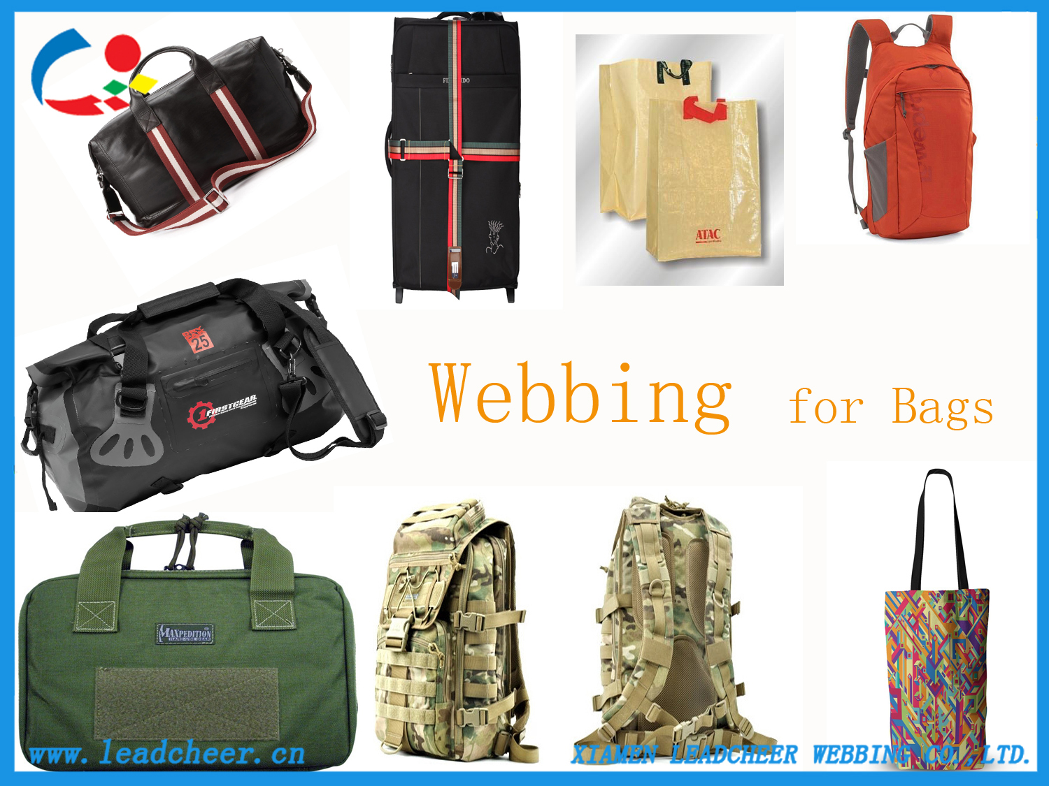 backpack webbing straps