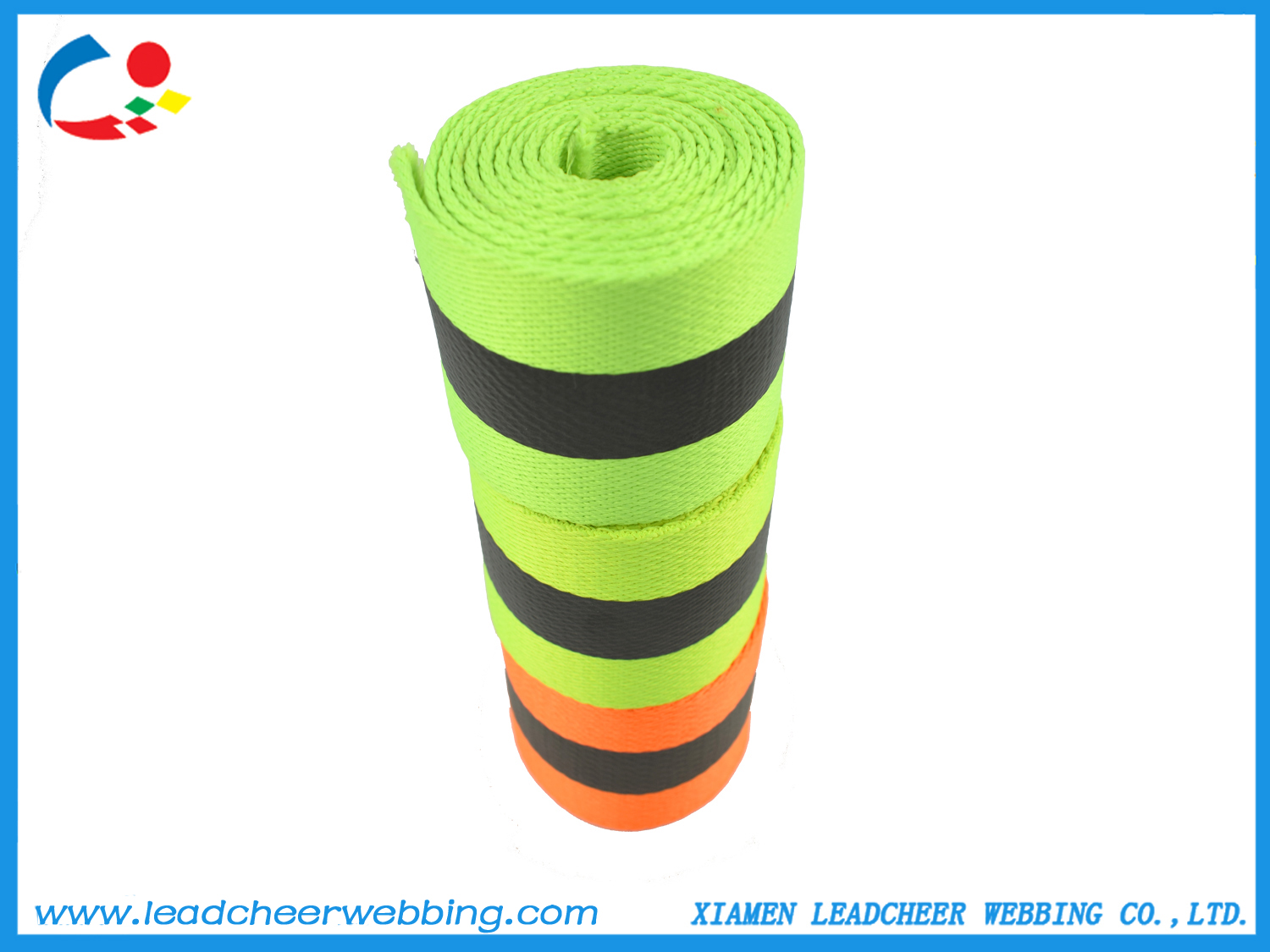 high strength reflective webbing