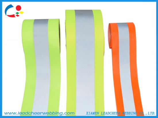 Oxford fabric backing reflective ribbon