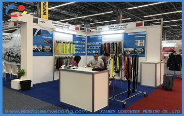 Leadcheer Webbing in Intermoda 2019 Mexico